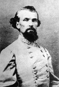 Nathan Bedford Forrest (July 13, 1821 – October 29, 1877) was a lieutenant general in the Confederate Army during the American Civil War. He is remembered both as a self-educated, innovative cavalry leader during the war and as a leading southern advocate in the postwar years. He served as the first Grand Wizard of the Ku Klux Klan.