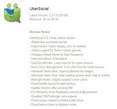 UberSocial v2.2.1.0 (BETA) For BlackBerry 10 Dev Alpha | China Firmware Download