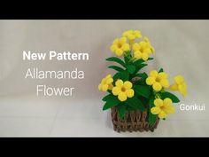Crochet Flower Tutorial, Crochet Flower Patterns, Crochet Motif, Crochet Doilies, Crochet Flowers, Parts Of A Flower, Flower Pots, Cactus, Projects To Try