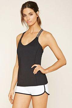 Top Dos Croisé - Sport | Forever 21 Active - Women's Workout Clothes | Yoga Clothes | Gym Clothes | Shop @ FitnessApparelExpress.com