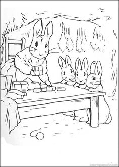 Beautiful Rabbit Coloring Book 43 Peter Rabbit Coloring Pages