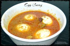 Madhu's Cooking And Craft: Egg Curry/ Egg Gravy