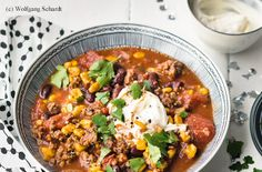 Chili con Carne Guacamole, Easy Meals, Easy Recipes, Soup, Gluten Free, Tex Mex, Chili Con Carne, Chef Recipes, Browning