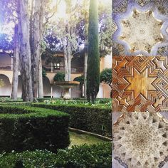 Memories of the Alhambra in Granada #spain #españa #culture #architecture #andalusia #andalucia #heritage #geometric