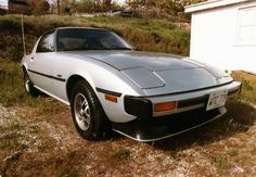 Car 70 - 1979 Mazda RX7.  Since we were racing an RX7 we decided to add a street version to the family. This one, originally owned by my brother was purchased on 12-20-81.