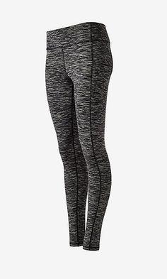 marl EXP core seamed compression legging