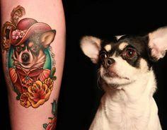 Tatuajes de Perros I: tu fiel mascota