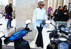 Paris Fashion Week Street Style | Amanda Shadforth in Ellery