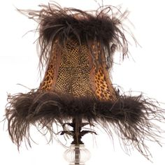 Black Feather and Leopard Print Table Lamp Animal Print Decor, Animal Prints, Leopard Prints, Tuscan Decorating, Interior Decorating, Leopard Bedroom, Decorative Accessories, Home Accessories, Feather Lamp