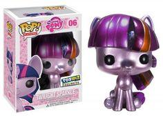 Amazon.com: Funko POP! My Little Pony Exclusive Vinyl Figure Metallic Twilight Sparkle: Toys & Games