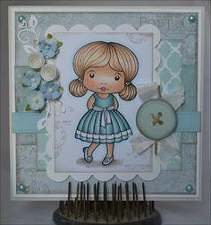 Christinas Scrapkammare: Buttons & Bows