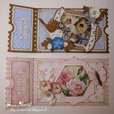 Crea Astrid: Ticket kaarten. Ticket Card, Shaped Cards, 3d Cards, Marianne Design, Studio Lighting, Birthday Cards, Decorative Boxes, Joy, Shapes