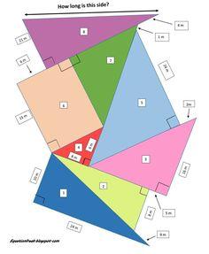 """Juan Pablo Sánchez en Twitter: """"Hoy dinámica cooperativa con el Pitagora's Challenge ¿ cuanto mide la hipotenusa del triángulo 8? #flippmath https://t.co/cDfkK7YvcR"""""""