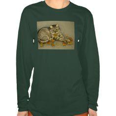 4872 Autumn Cat Tshirts from Zazzle.com
