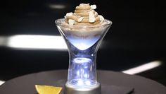 - Panna cotta maron- Marmelade de clémentine- Chantilly vanille