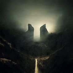 Awesome Landscape Photo Manipulations by Michał Karcz This man has obviously played Shadow of the Colossus