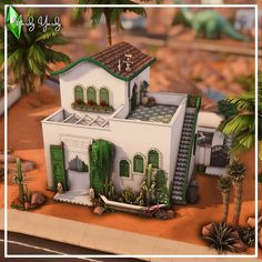 Sims 4 House Building, Sims 4 House Design, Sims Ideas, Sims 4 Build, Sims 4 Houses, Sims 4 Mods, Spring Home, Interior Design Inspiration, Oasis