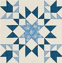 Midnight Garden... free quilt block download