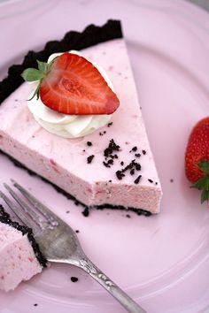 Strawberry Cream Tart without baking