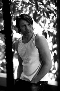 Mads Mikkelsen - I promise this weekend I will post more Ben and Tom and some to the classics, for now - his arms