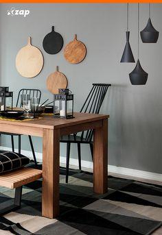Clique na imagem e conheça algumas regras para iluminar sua sala de jantar e outros ambientes.