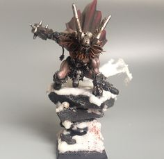 Thor themed Warhammer Fantasy Battle Warriors of Chaos conversions