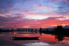 Han River, Danang, Vietnam by Gien Khan