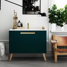 Swoon Soft Series // bathroom furniture