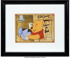 レイム・オー コレクション: 2018 December Animation Art Signature Auction - Beverly Hills New Adventures, Winnie The Pooh, Disney Characters, Fictional Characters, Auction, Winnie The Pooh Ears, Fantasy Characters, Pooh Bear