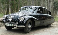 Tatra T87: one of the most beautiful cars ever made.