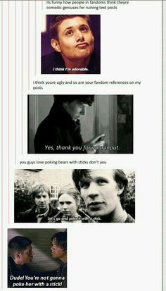 Don't mess with the SuperWhoLock fandom.