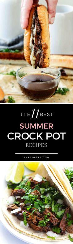 The 11 Best Summer Crock Pot Recipe Ideas