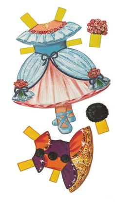 Gallery.ru / Фото #10 - Бумажные куклы - Tawa