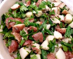 Low FODMAP Life - Red Potato and Green Bean Salad