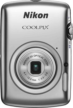 Nikon - Coolpix S01 10.1-Megapixel Digital Camera - Silver in Week of November 25, 2012 from Best Buy on shop.CatalogSpree.com, my personal digital mall.
