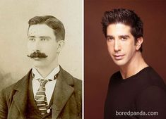 This Gentleman From The 1800s  And David Schwimmer