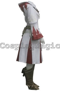 Final Fantasy XIV 14 White Mage Cosplay Costumes