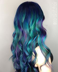 Galactic Mermaid!  This look was created using /pravana/ /joico/ #colorintensity and @arcticfoxhaircolor. I love combining and mixing different colors and color lines to achieve the exact look My clients are going for.