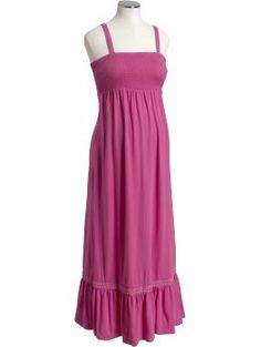 haven't tried a maxi dress yet but maternity may be the time to try?