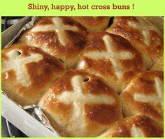 Hot Cross Buns - Eggless