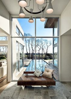 Modern House Design by Blaze Makoid Architecture House in the East Hamptons.