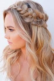 Image Result For Half Up Hair Front View Medium Hair Styles Prom Hairstyles For Long Hair Front Hair Styles