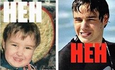 Liam Payne then and now still adorable