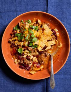 Slow Cooker Cheesy Chili Mac - Short on time? You can also make this easy chili mac recipe in your Instant Pot! To avoid any chanc - Chili Recipes, Slow Cooker Recipes, Crockpot Recipes, Cooking Recipes, Easy Recipes, Chile, Mac Recipe, Slow Cooker Pressure Cooker, Potted Beef Recipe
