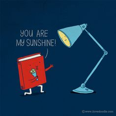 You are my sunshine - Doodle Drawings by Lim Heng Swee  <3 <3