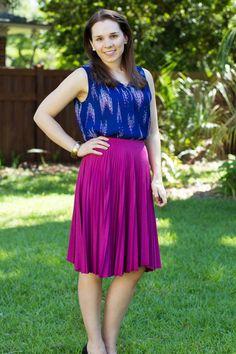 Stitch Fix May 2015 featuring Papermoon Charissa Skirt!