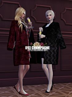 Flower Chamber: Champagne poses • Sims 4 Downloads