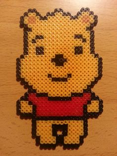 Winnie the Pooh hama perler beads by Factory Beads