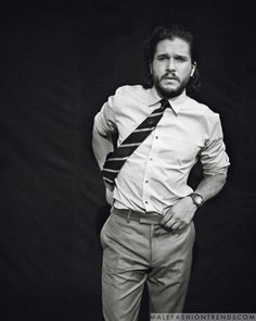 Kit Harington para Esquire USA por Norman Jean Roy