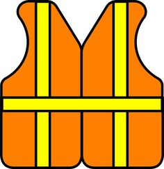 Safety Construction Vest - Free vector graphic on Pixabay Construction Theme Classroom, Under Construction Theme, Construction Signs, Construction Birthday Parties, Construction Business, Construction Worker, Classroom Themes, Construction Cookies, Transportation Theme